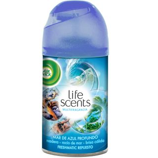 Aerosol Automático Freshmatic Life Scents™ Mar de Azul Profundo Recarga