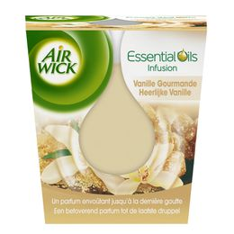 AirWick Bougie Essential Oils Vanille Gourmande