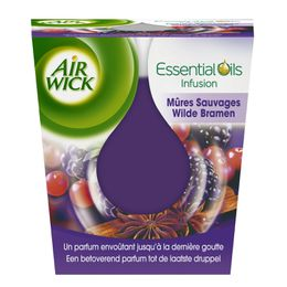 AirWick Bougie Essential Oils Mûres Sauvages