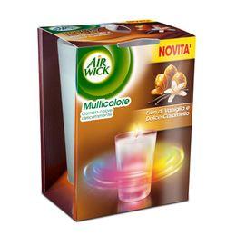 Fiori di Vaniglia e Dolce Caramello Candele Multicolore