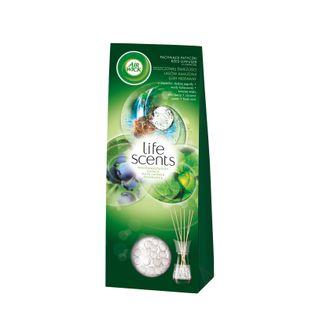 Air Wick® Pachnące Patyczki - Life Scents™ Deszczowa Świeżość Lasów Amazonii