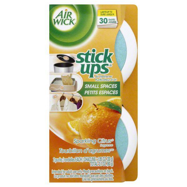 Sparkling Citrus Stick Ups® Air Freshener | Air Wick®