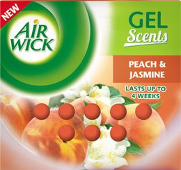 Airwick gel airfreshner peach and jasmine